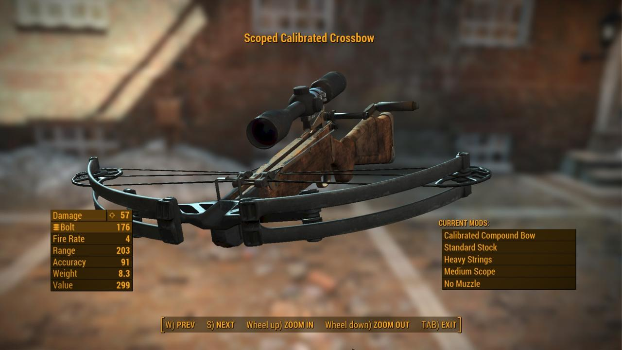 TrickyVein's Crossbows of the Commonwealth mod