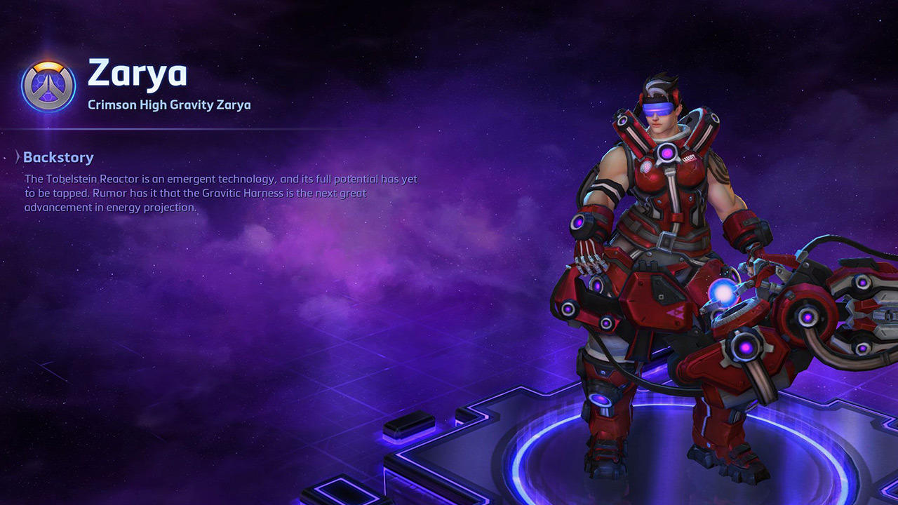 Crimson High Gravity Zarya