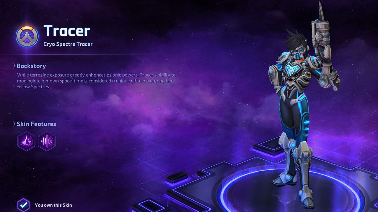 Cryo Spectre Tracer