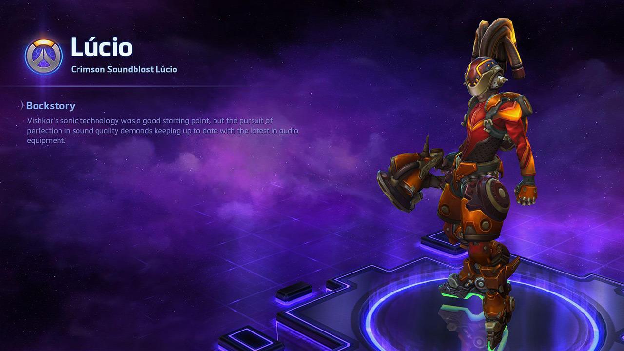 Crimson Soundblast Lucio