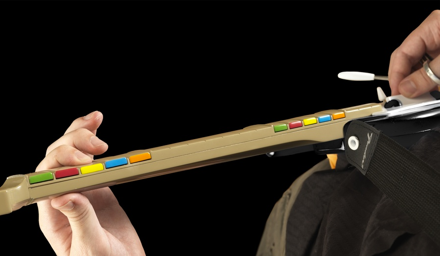 Plastic Instruments for Guitar Hero and Rock Band