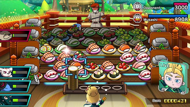 Sushi Striker: Way of the Sushido
