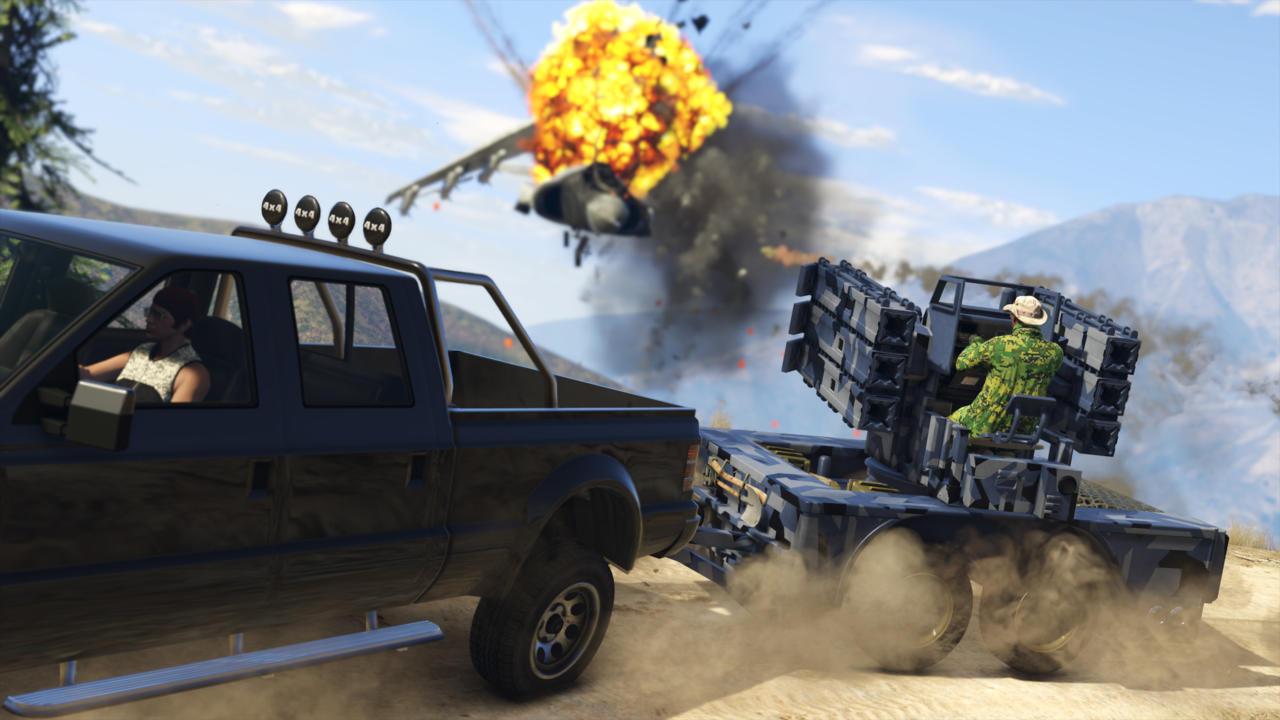 Grand Theft Auto V | $19.79 / £13.19 (67% off)