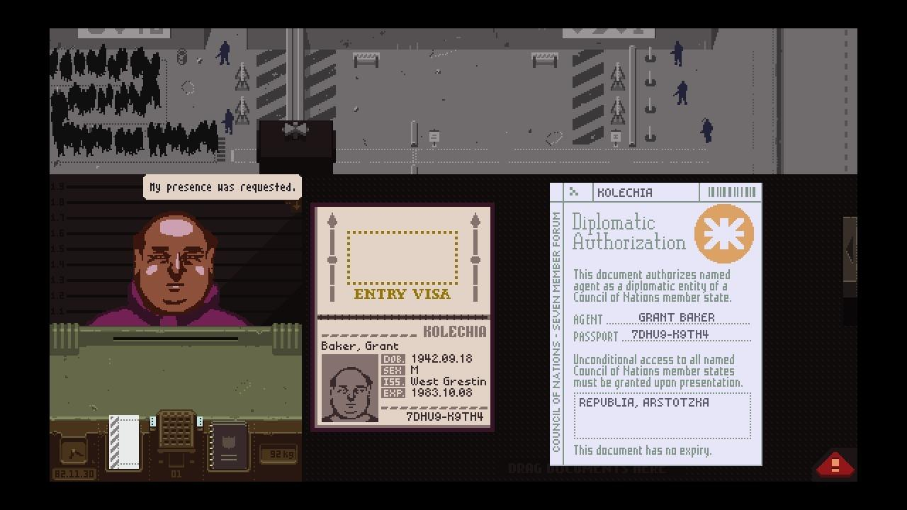 Papers, Please | $4.99 / £3.49 (50% off)