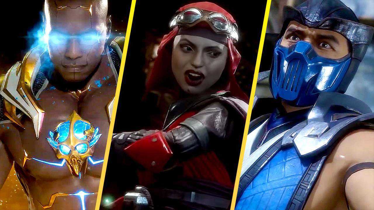 Mortal Kombat 11 Roster