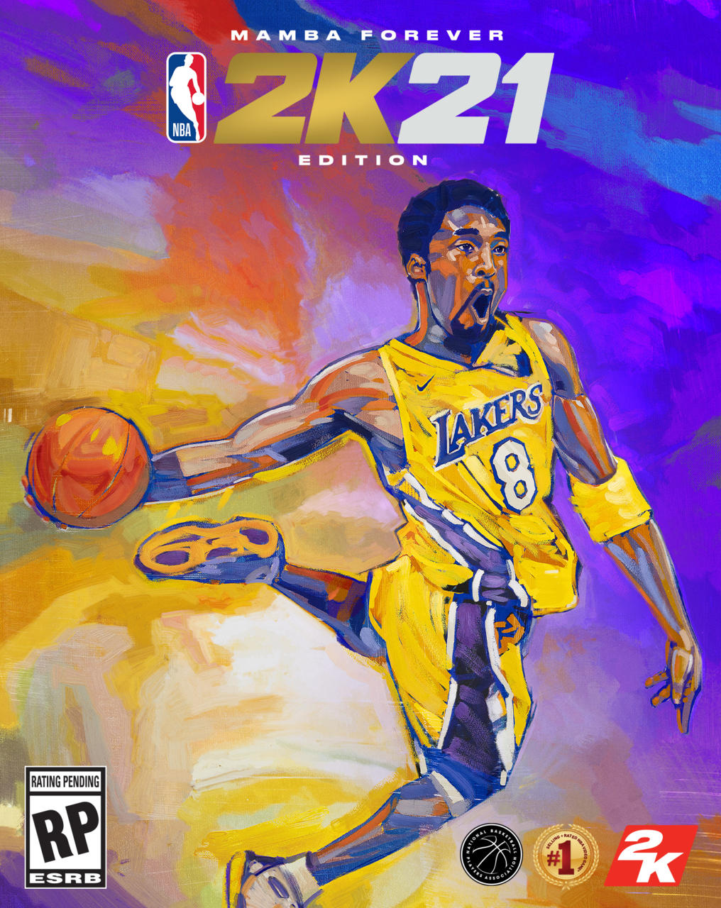 NBA 2K21 Mamba Forever edition on PS4/Xbox One