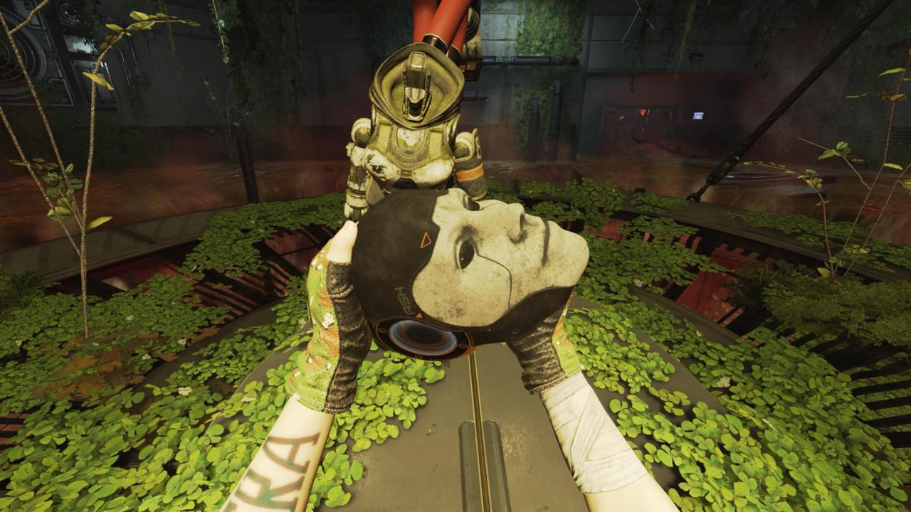 Restoring Ash's head