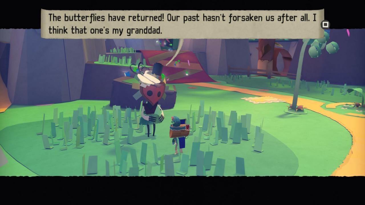 Tearaway Unfolded's characters are adorable, cooing and squawking as they speak.