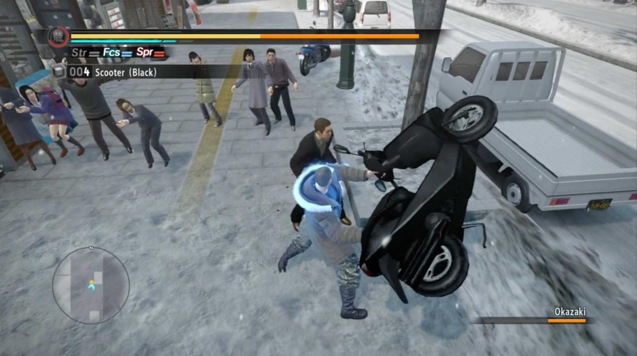 You'd be surprised what Taiga Saejima can pick up.