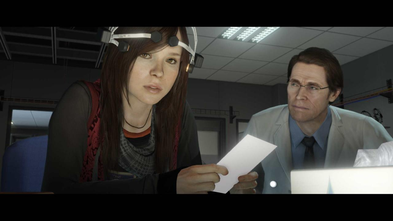 Page and Dafoe deliver excellent performances.