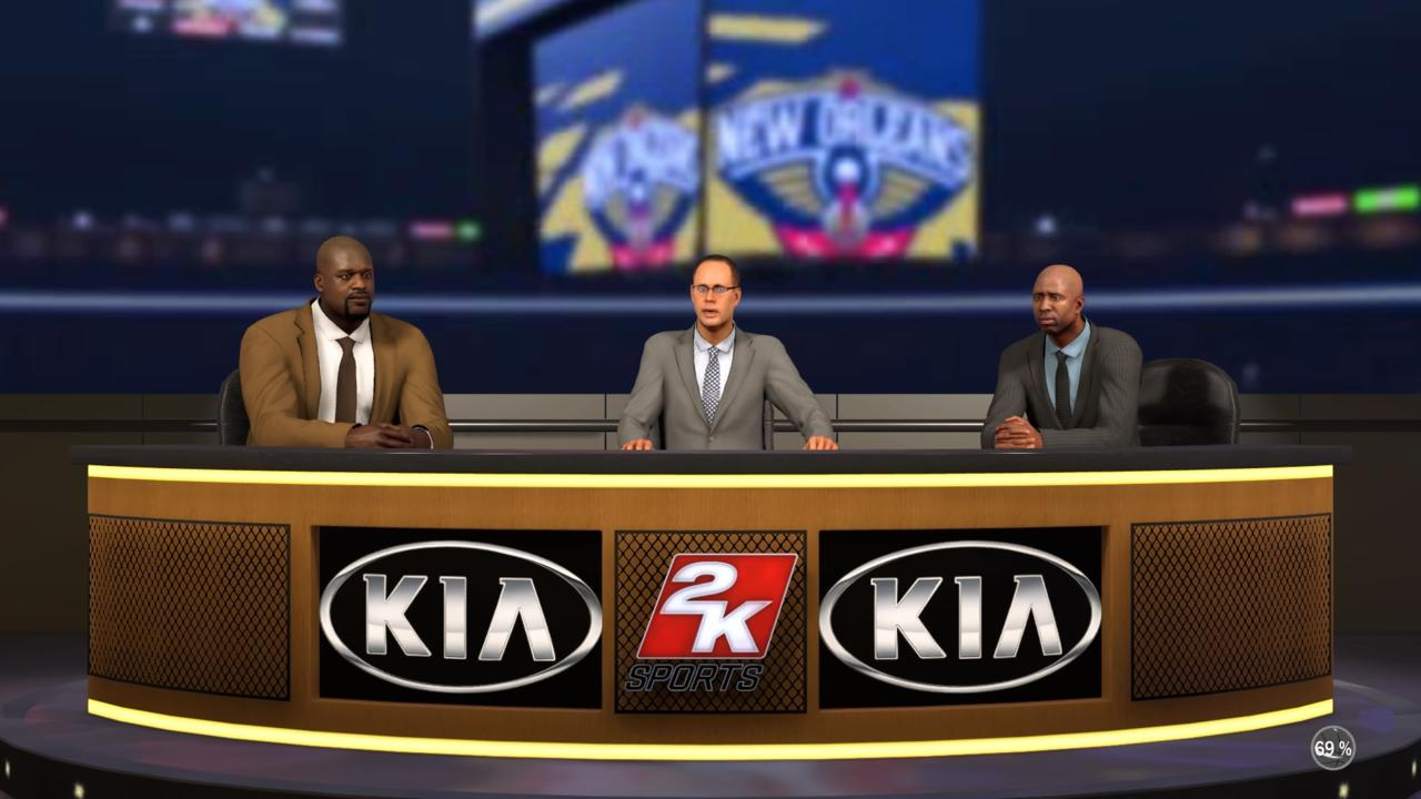 Shaq, Ernie, and Kenny don't echo the authenticity found elsewhere in NBA 2K17.