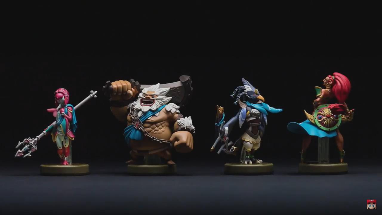 Highlight: A parade of new Amiibo appear.