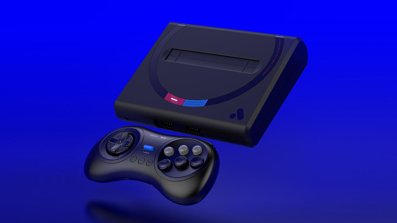 The Japanese Mega Drive-themed Mega Sg ($189), and the Black M30 Controller ($25) from 8BitDo