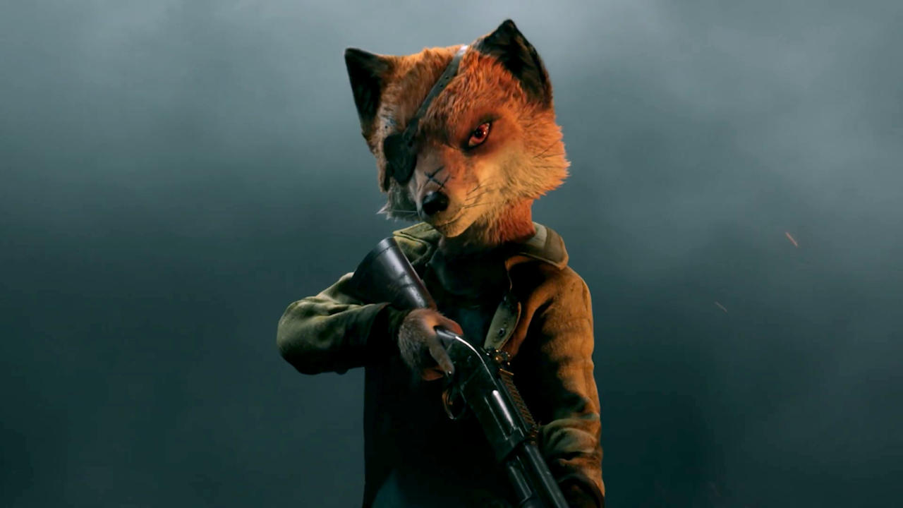 Mutant Year Zero's newest survivor, Farrow the fox.