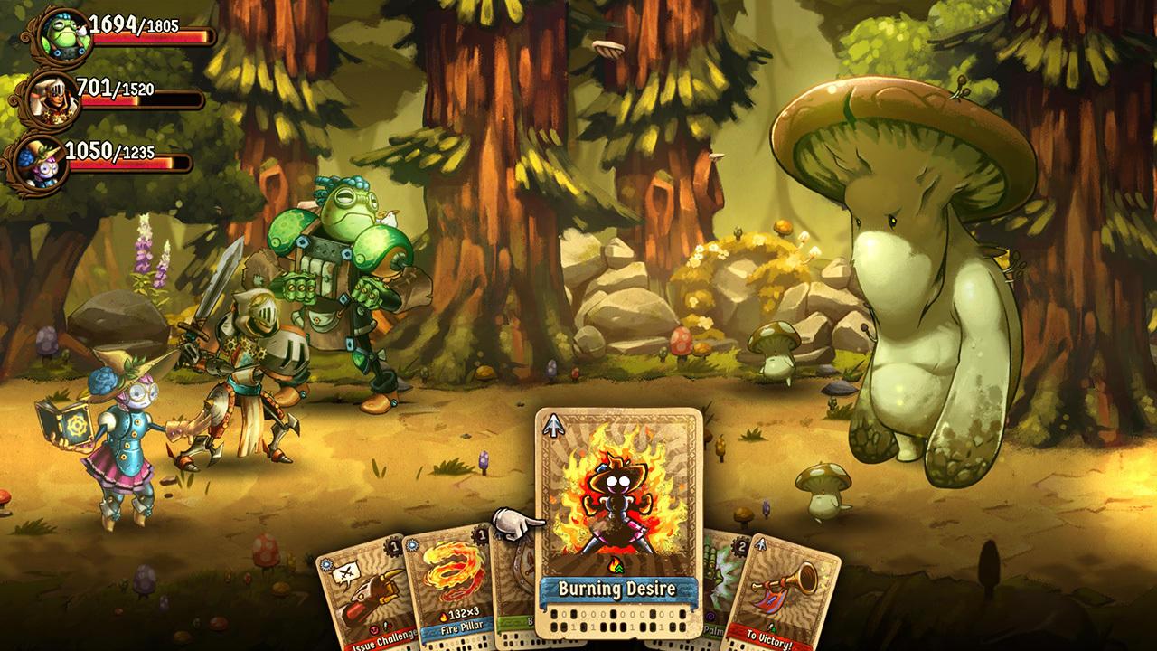 SteamWorld Quest: Hand of Gilgamech | Switch | Release: TBD 2019