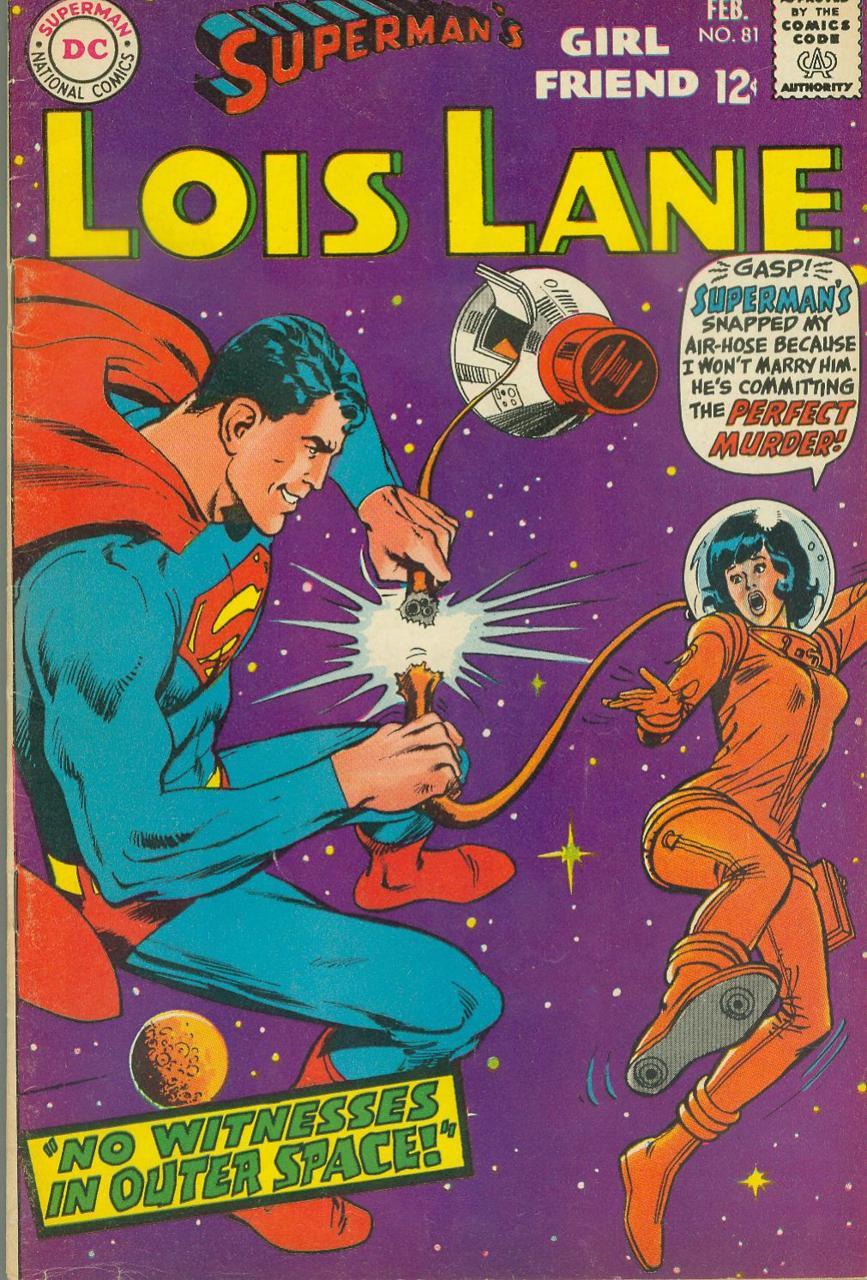 Superman's Girl Friend Lois Lane #81 (1968)