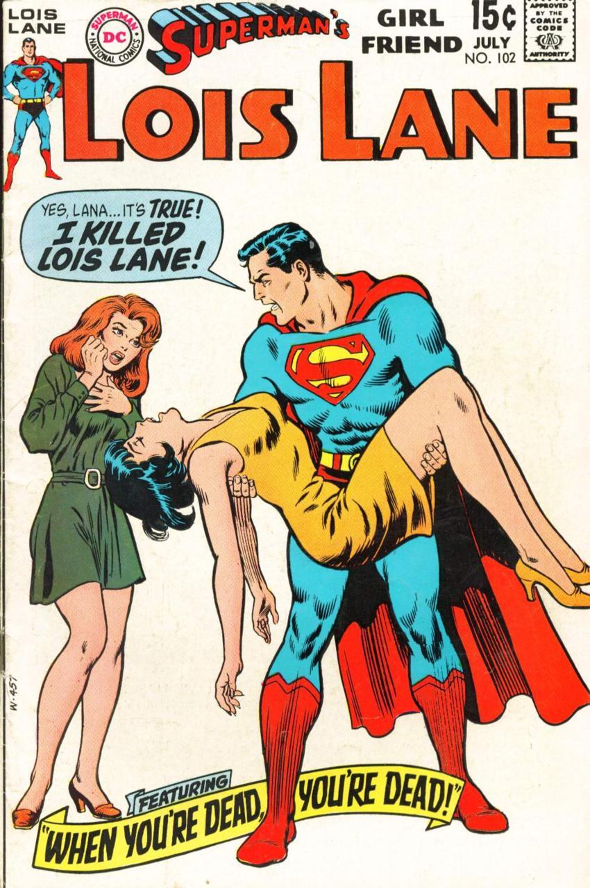 Superman's Girl Friend Lois Lane #102 (1970)