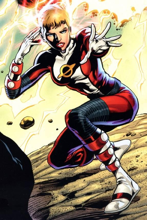 Saturn Girl and the Legion of Super-Heroes
