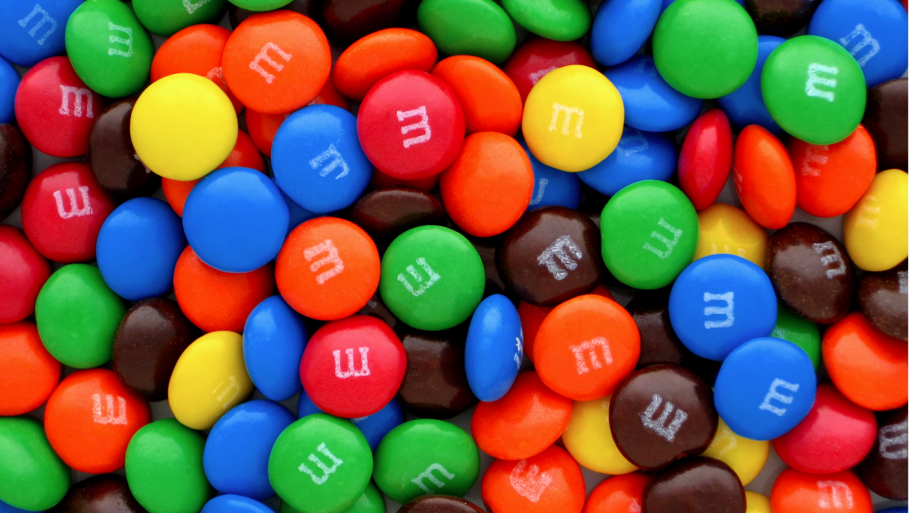 These candies are not owned by King. Image credit: Wikipedia.