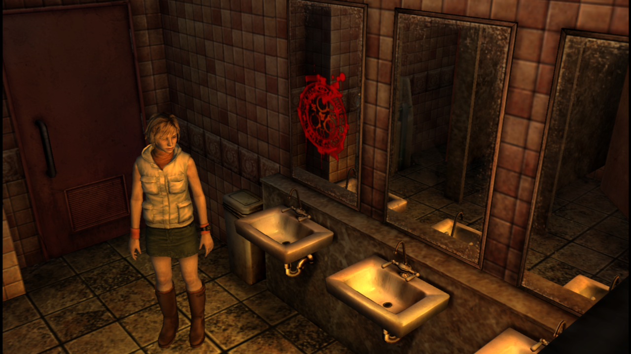 Silent Hill 3 running at 1080p via PCSX2. Is this what PS2 emulation on PS4 could look like? Image credit: Alex Townshend on the Silent Hill Community forums.
