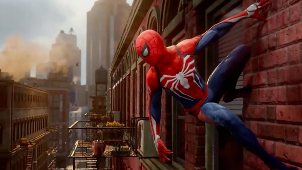 Spider-man's new video game costume.