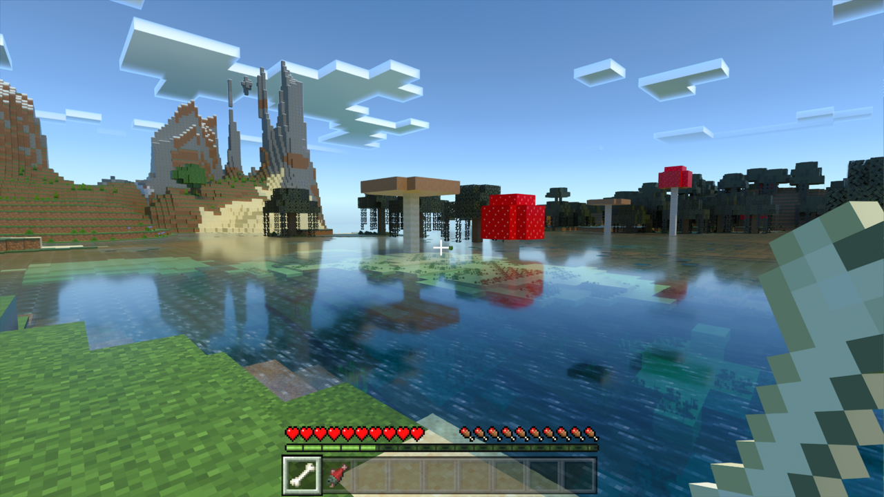 Minecraft RTX - VR is even better, but can't combine both :-(
