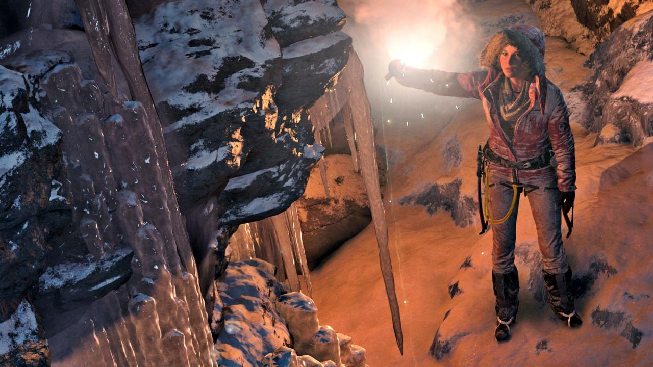 Pictured Above: Rise of the Tomb Raider