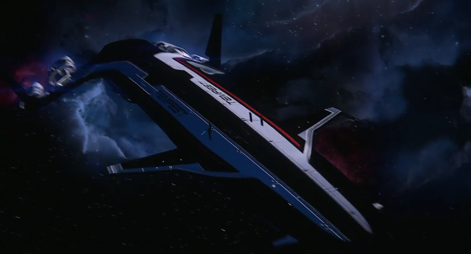The New Ship and a Mysterious Nebula