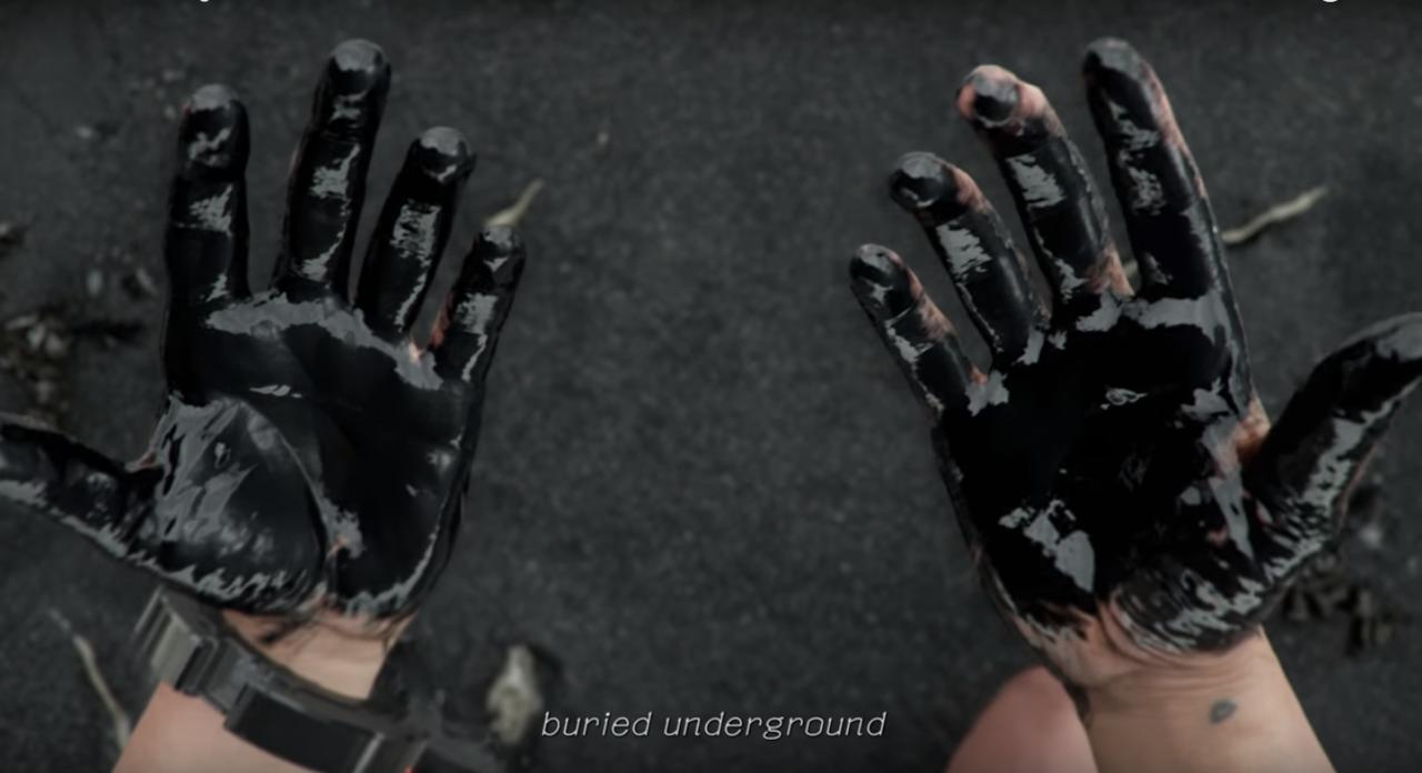 That Weird Black Ink