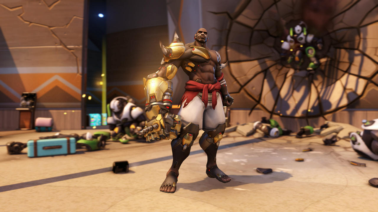 Doomfist Just Got A Bunch Of Skins And Poses