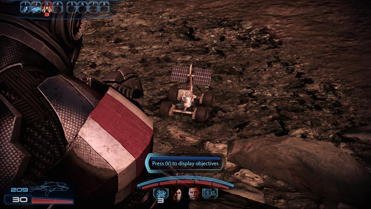 Imagem do ovo de Páscoa do rover, cortesia do usuário do Reddit Tuskin38.