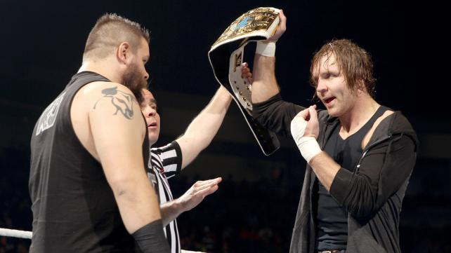 Dean Ambrose and Kevin Owens