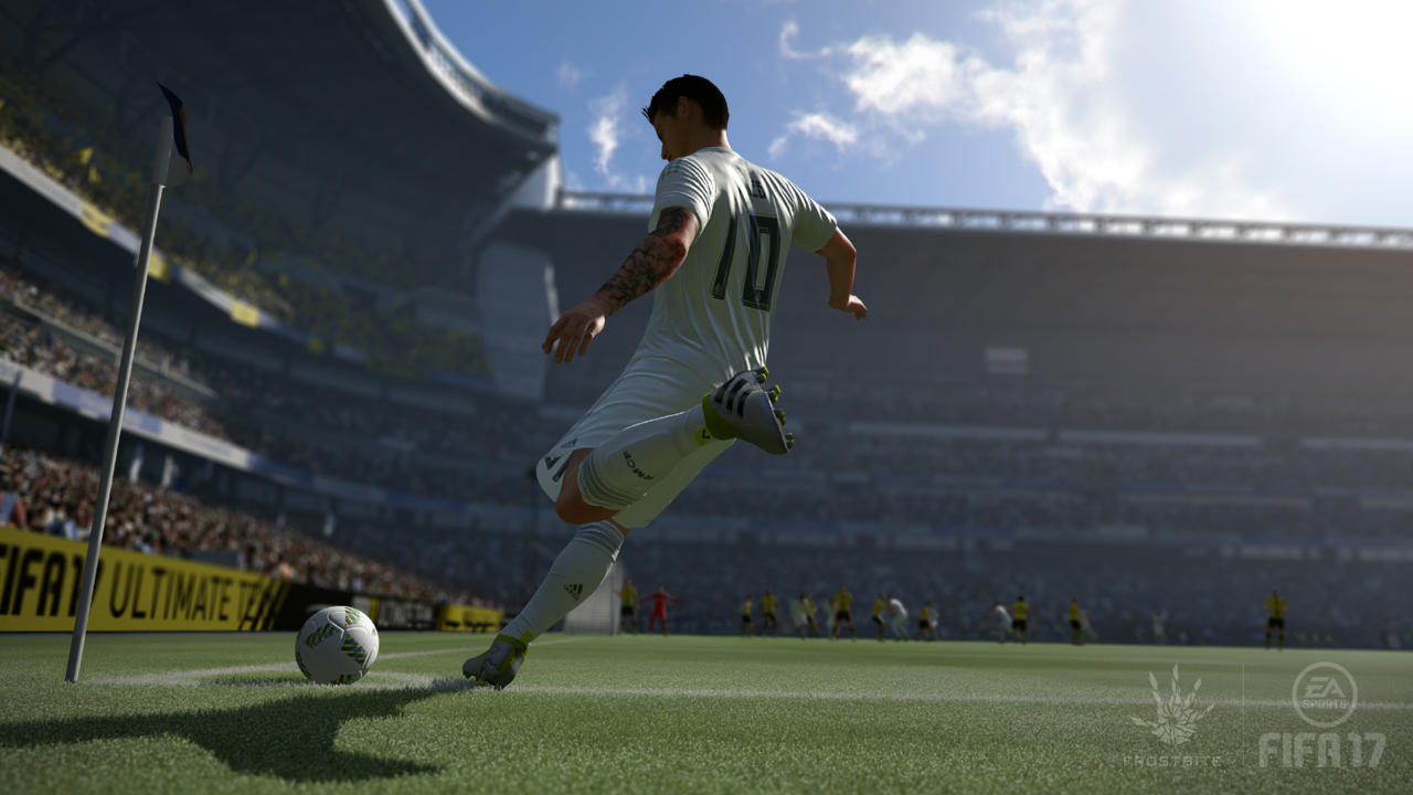FIFA 17 makes a number of tweaks and improvements to set-pieces