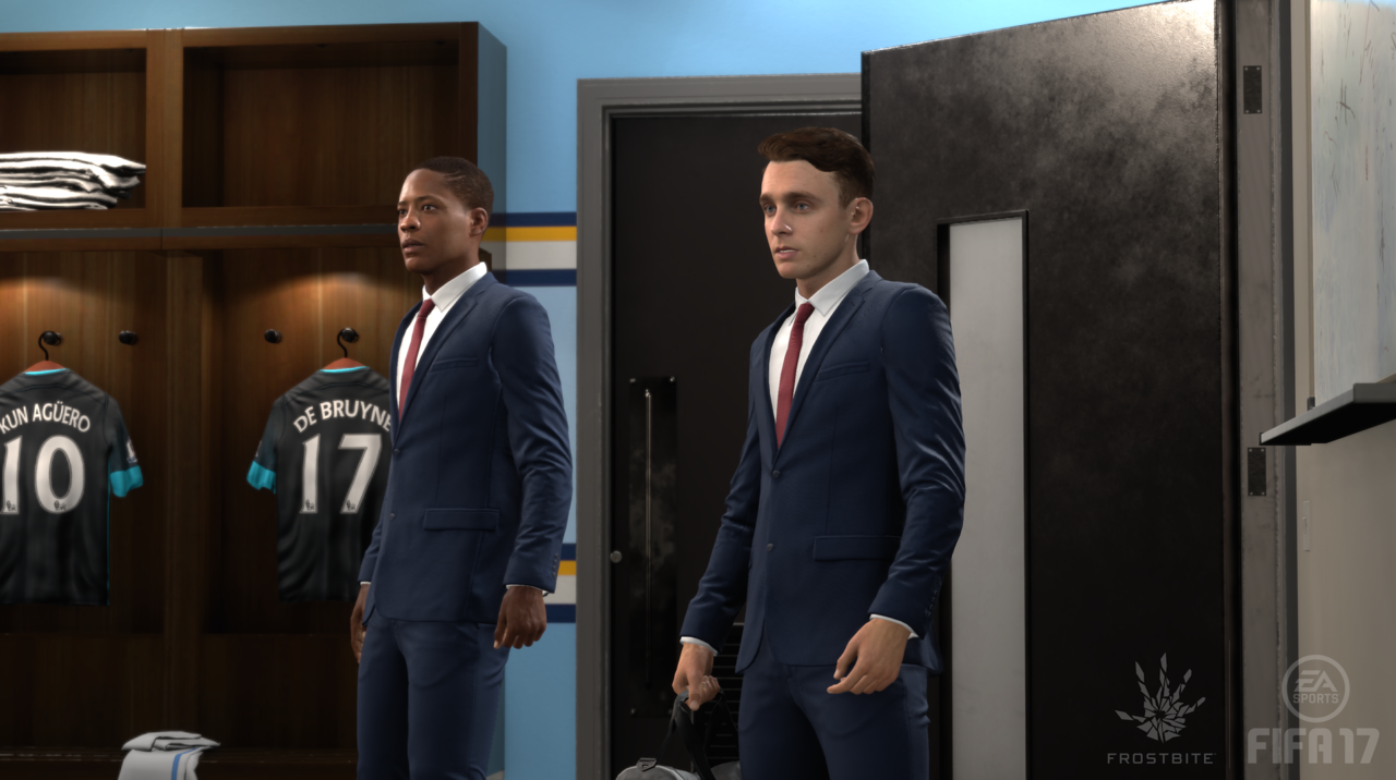 FIRST IMAGES: Click on the thumbnails below to see the first full-screen pictures of FIFA 17's new story mode, The Journey