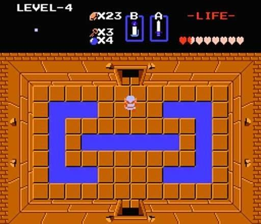 The first Zelda game is one of the last, chronologically speaking.