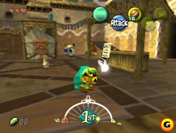Yoshi appears in Majora's Mask, sorta.