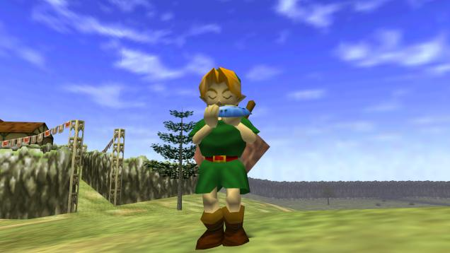 The Ocarina of Time almost had a first-person view.