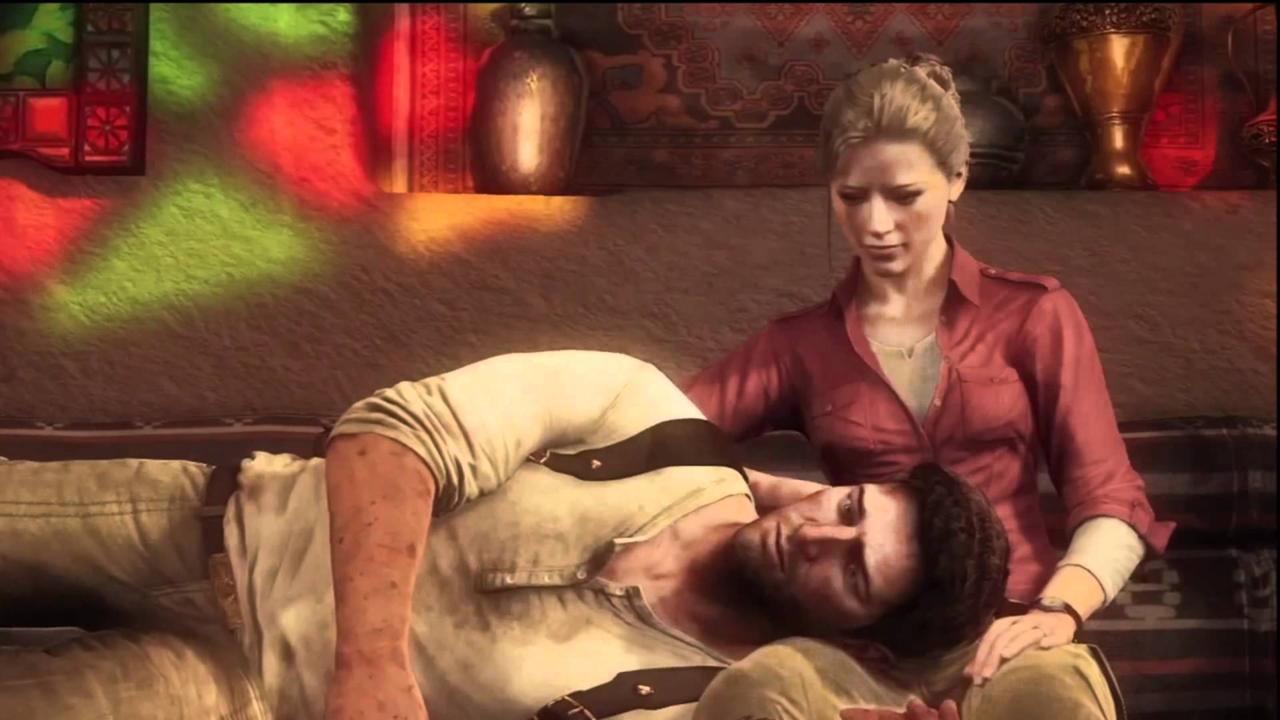 7. Drake & Elena, Uncharted: Drake's Fortune