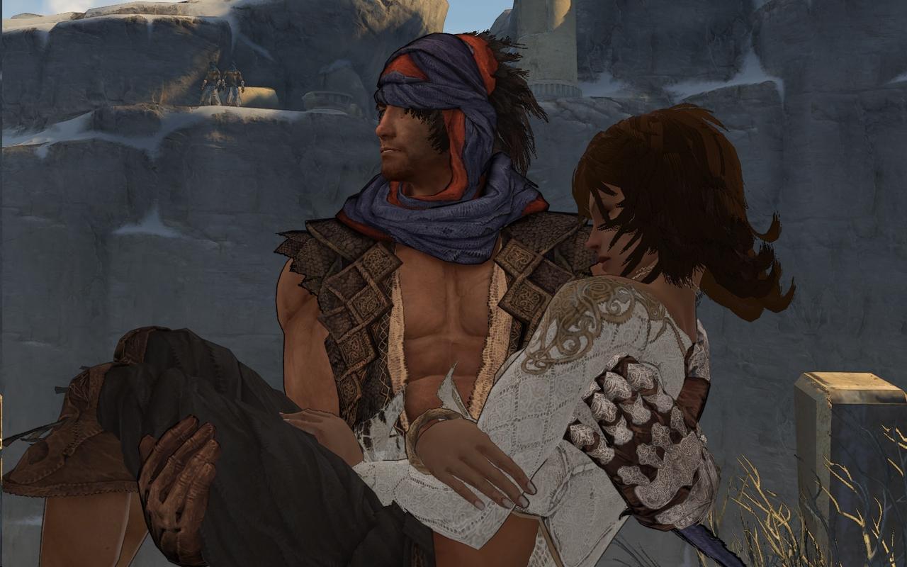 8. Prince & Elika, The Prince of Persia