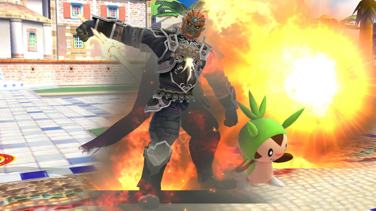 4. Chespin's Seed Bomb