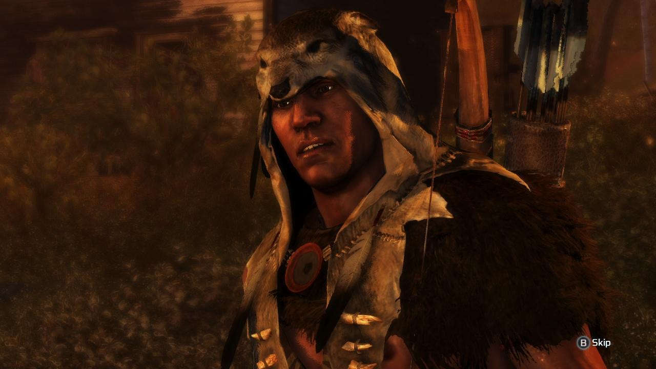 1. Connor was voiced by a Native American