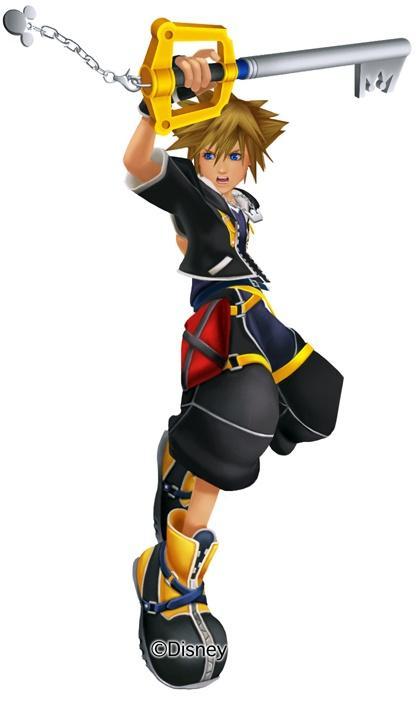 1. Keyblade - Kingdom Hearts