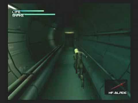 6. High-Frequency Blade - Metal Gear Solid 2: Sons of Liberty