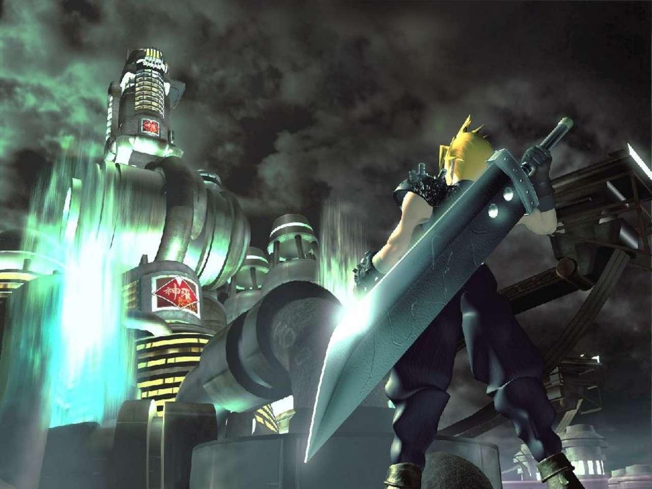 8. Buster Sword - Final Fantasy VII
