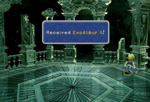 13. Excalibur II - Final Fantasy IX