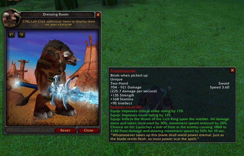 14. Frostmourne - World of Warcraft