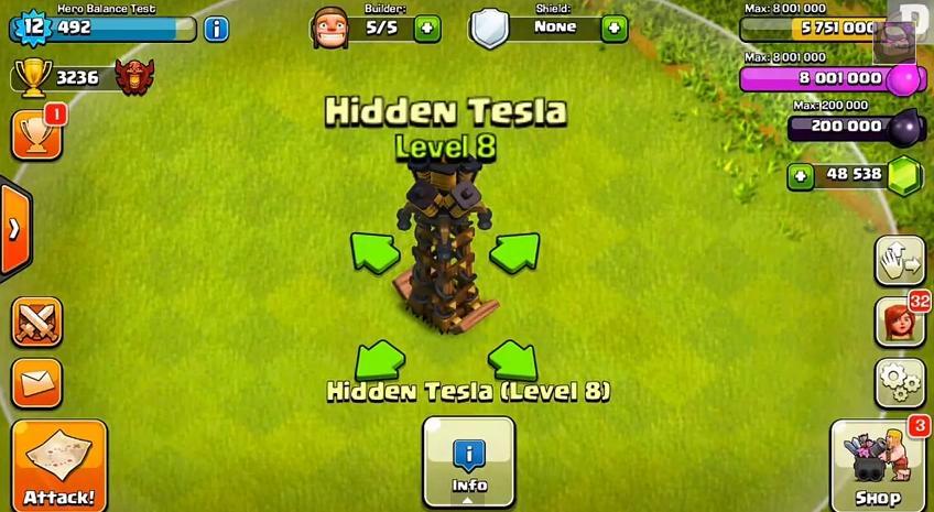 Hidden Teslas Do Major Damage to a P.E.K.K.A