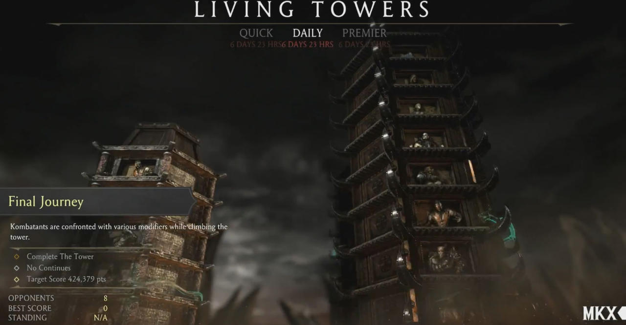 8. Living Towers