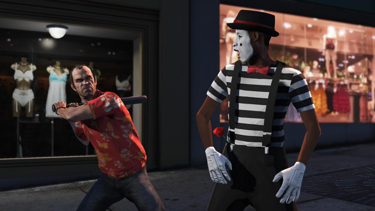 Piss Off the Mimes