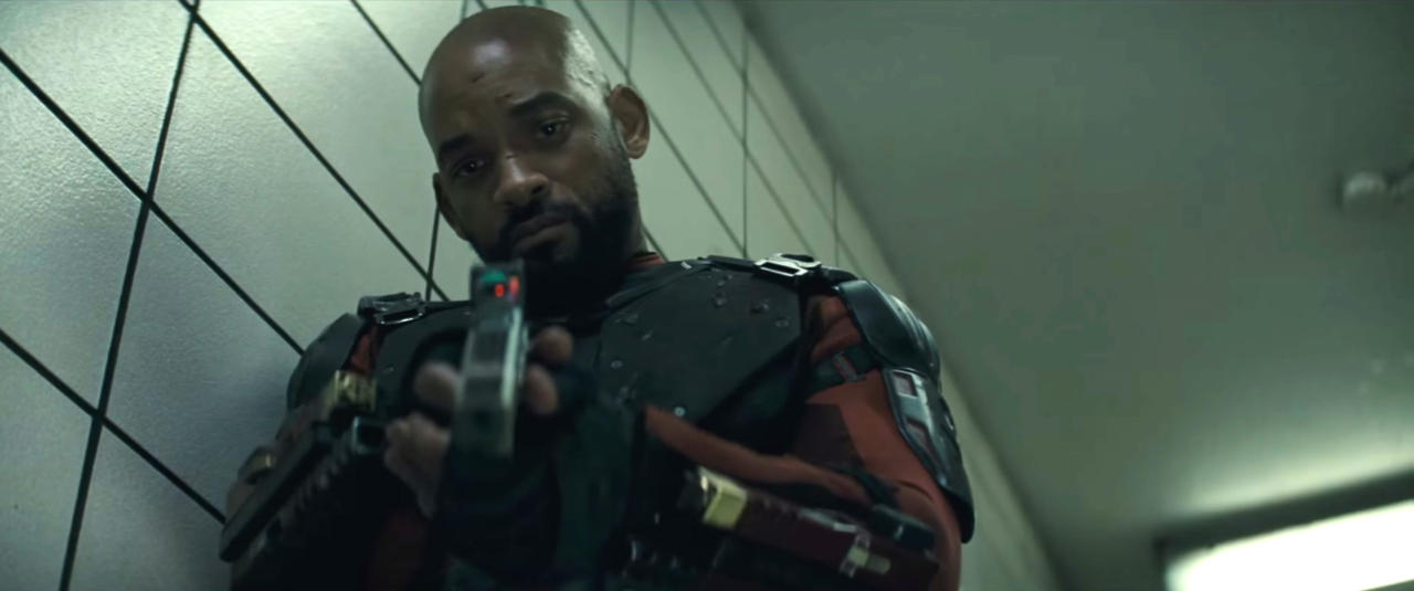 Will Smith Plays The Sharpshooter Deadshot
